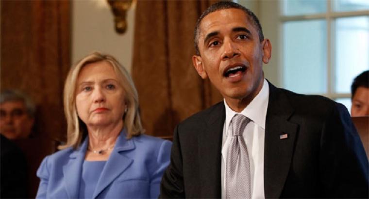 Hillary Clinton, Barack Obama