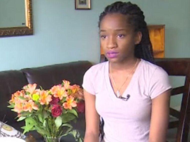 Jada, a 16-year-old victim of alleged rape in Houston, Texas