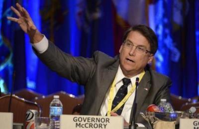 Republican Governor Pat McCrory