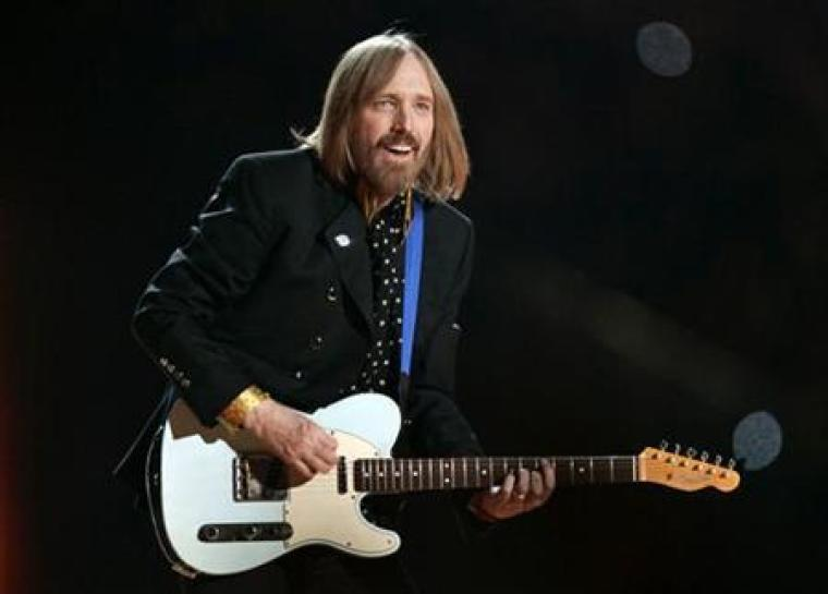 Singer and guitarist Tom Petty