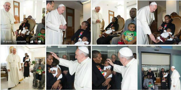 Pope Francis Meriam Ibrahim
