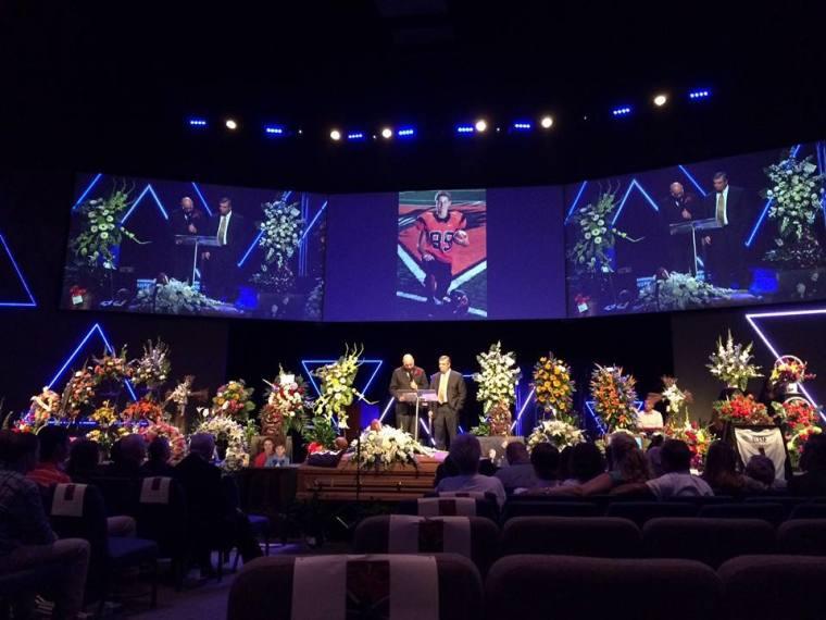Braxton Caner's Funeral