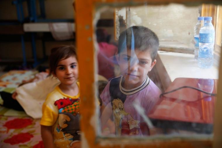 iraq christian children