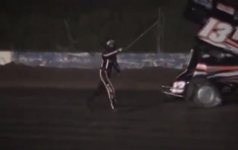 Tony Stewart Crash Kevin Ward Jr.