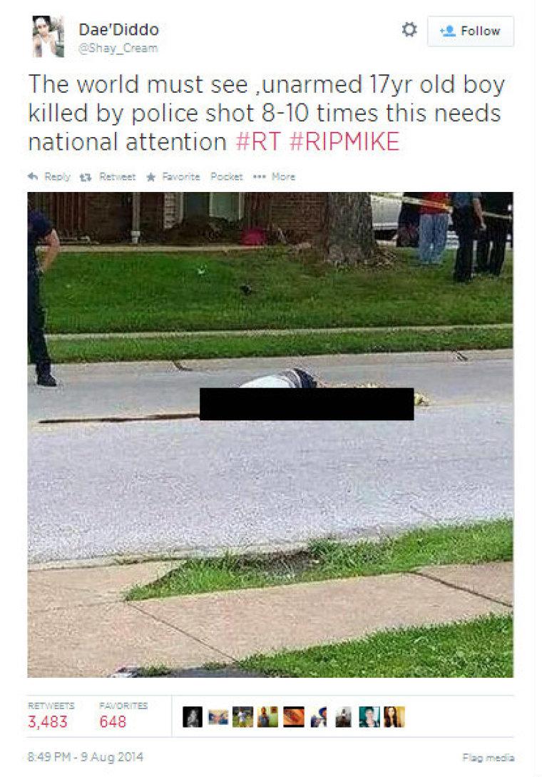 Michael Brown teen killed