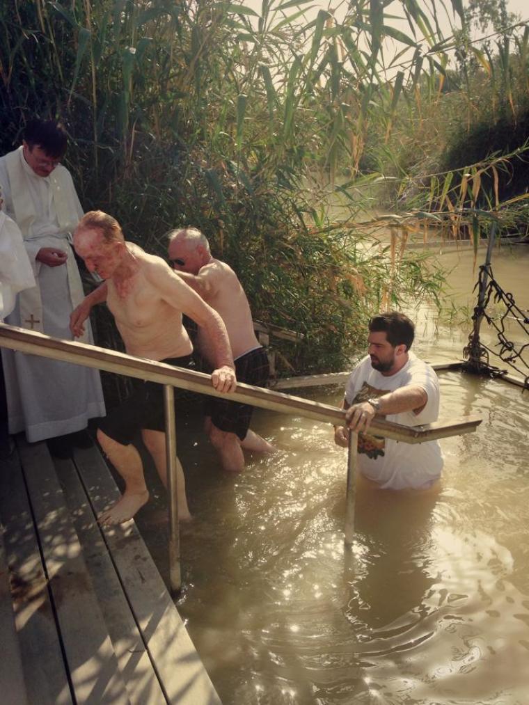 Jordan Baptism
