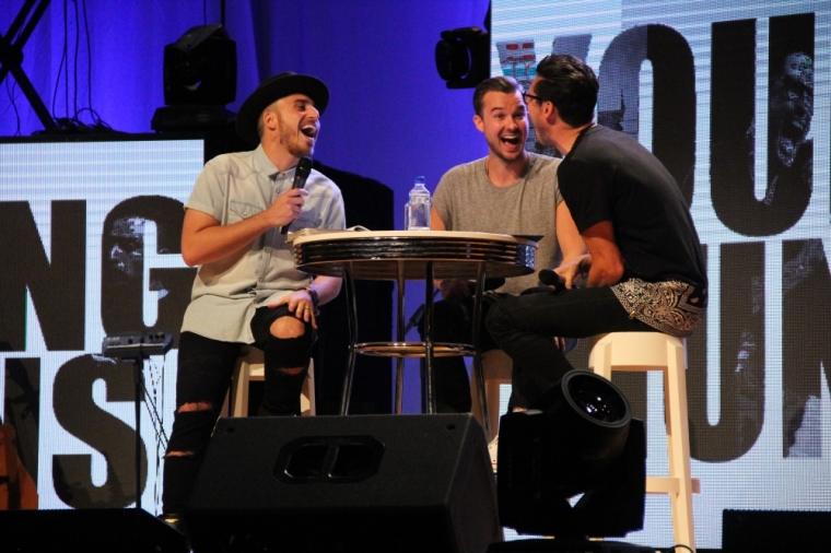 Young Guns Segment at 'Misfit the Conference' 2014 in NYC