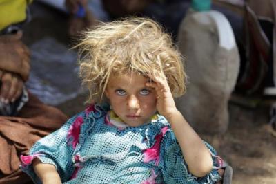 Yazidi girl, ISIS, Iraq