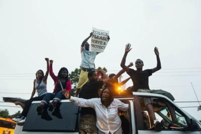 Ferguson Protesters