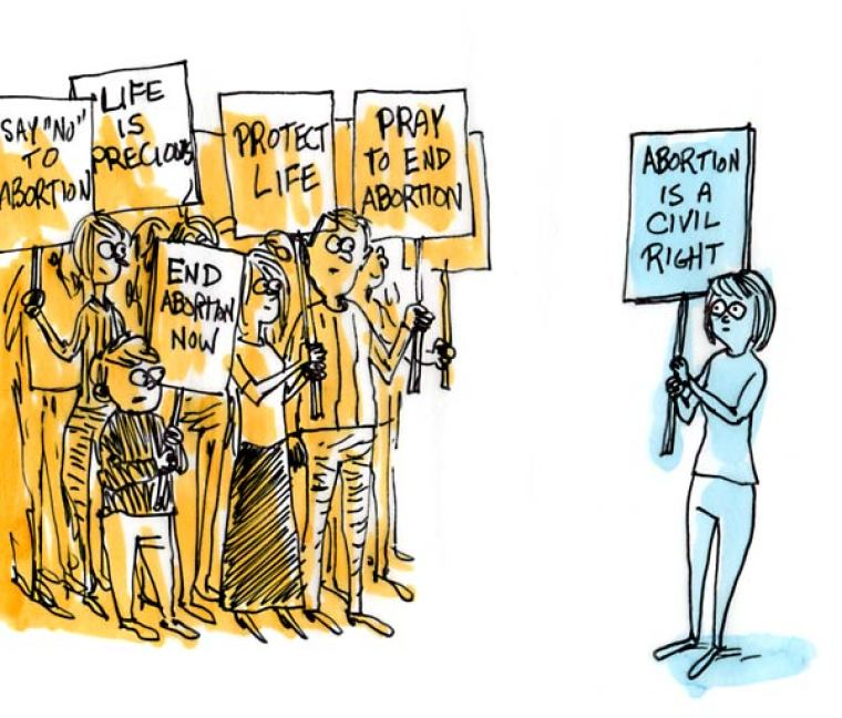 Will Sheer Numbers Win the Abortion Fight?
