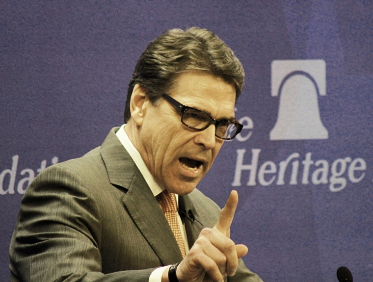 Texas Gov. Rick Perry Rick Perry