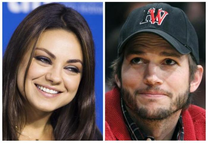 Ashton Kutcher dating Mila Kunis 2013 Dating leeftijdsgrens in Californië