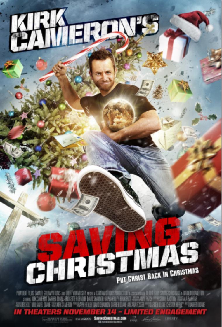 Kirk Cameron's 'Saving Christmas'