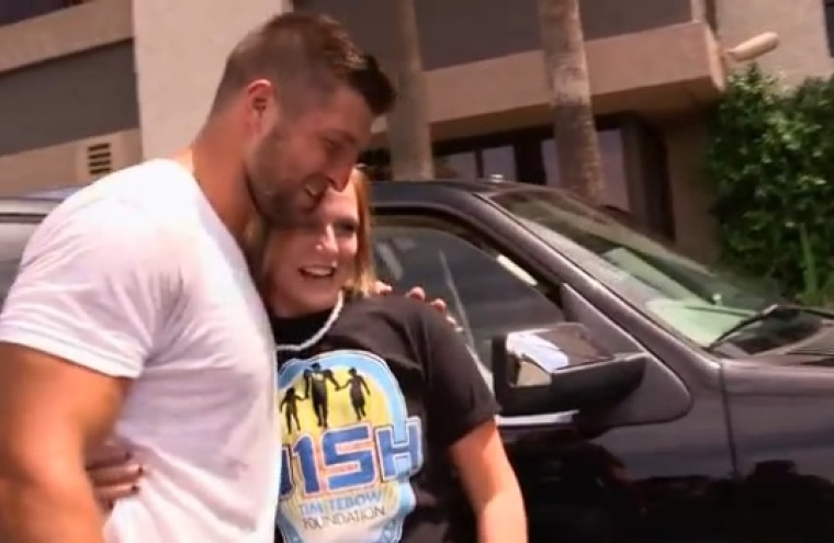 Tim Tebow and Haley