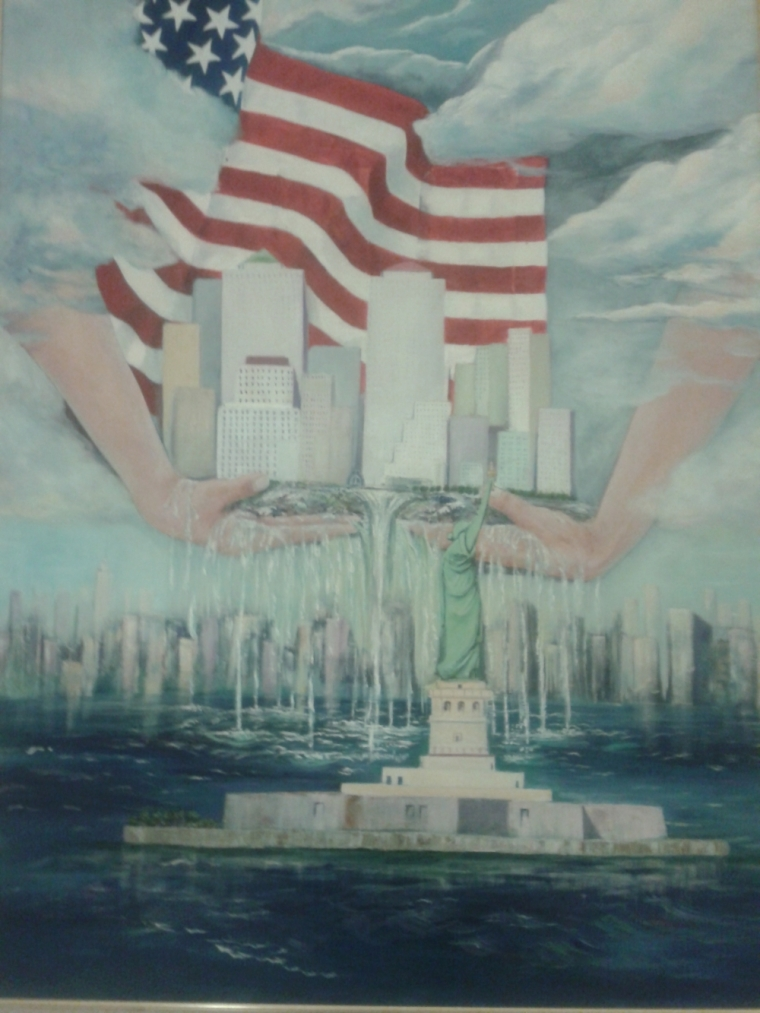 9/11 painting