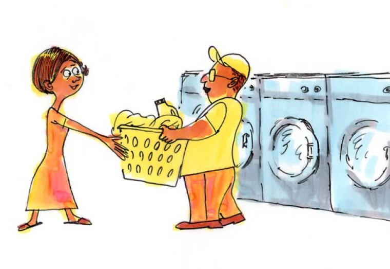 Let A Pastor Do Your Laundry!