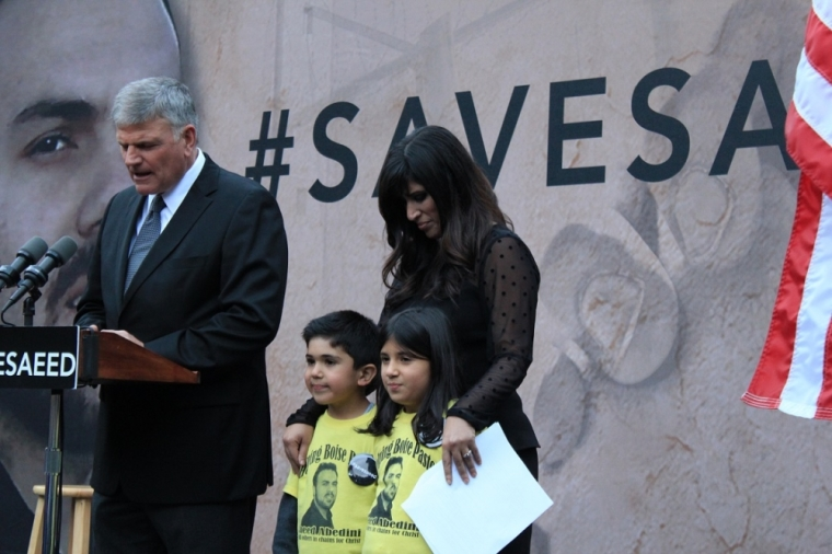 Franklin Graham and Naghmeh Abedini