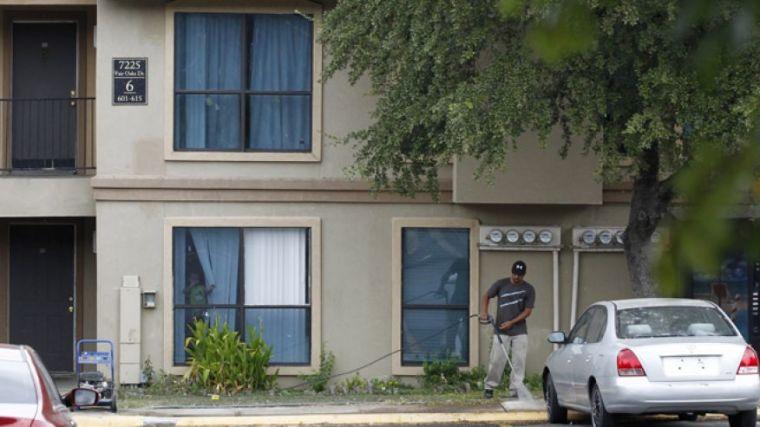 Ebola family apartment
