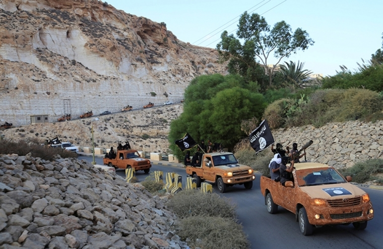 ISIS supporters in Libya
