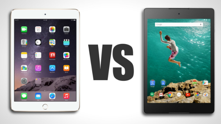 iPad Mini 3 and Google Nexus 9