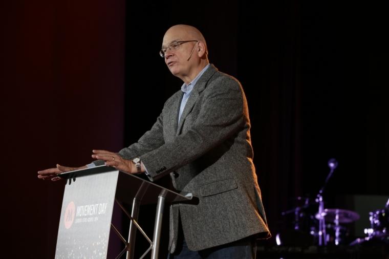 Pastor Tim Keller Preaching at Movement Day 2014