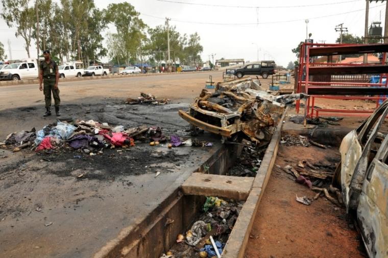 Suicide bombing in NIgeria