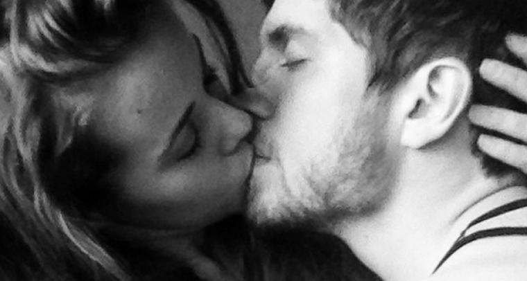Jessa Duggar Kiss