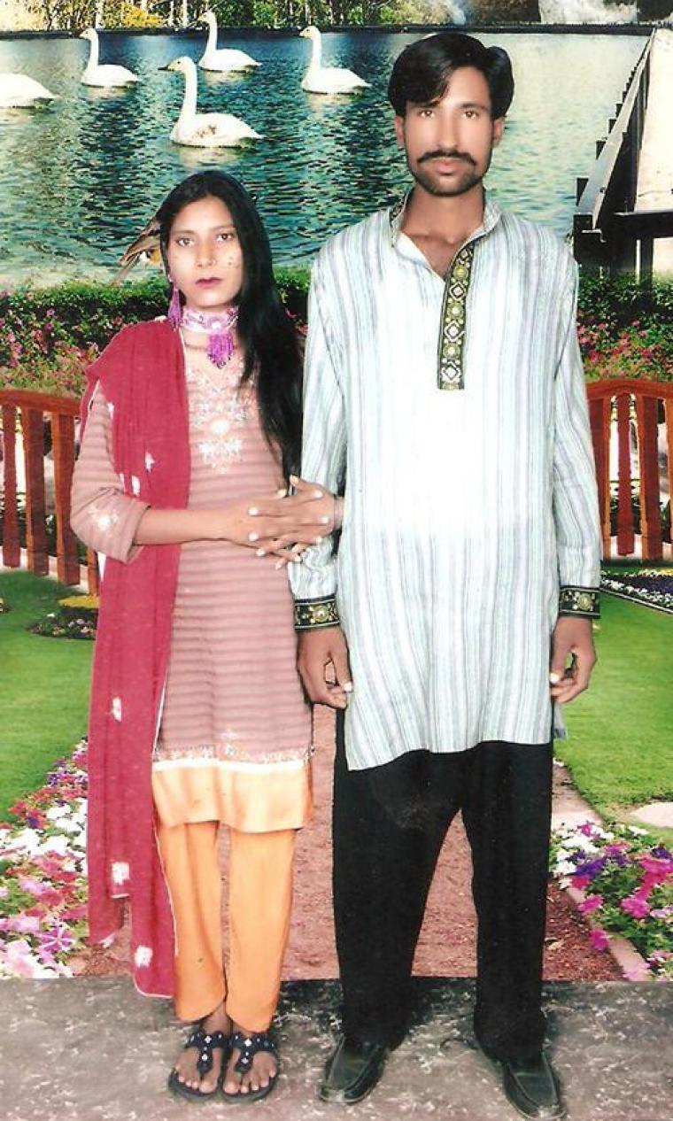 Shehzad and Shamah Masih