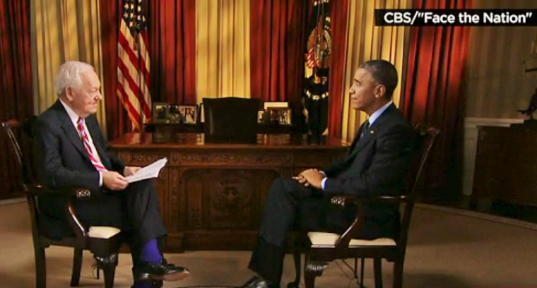 Obama on CBS' Face the Nation
