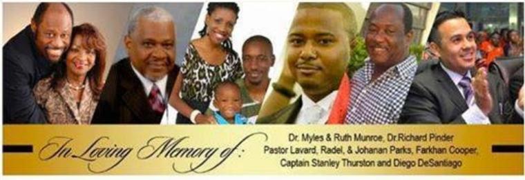 Myles Munroe, Ruth, Jet, Bahamas
