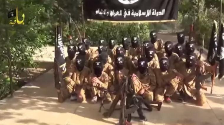 ISIS Children Training