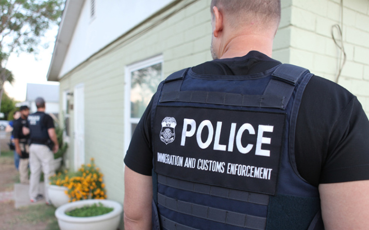 Immigration and Customs Enforcement Agents