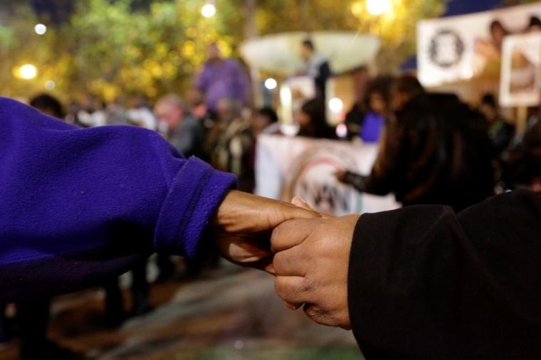 Demonstration in Los Angeles, California