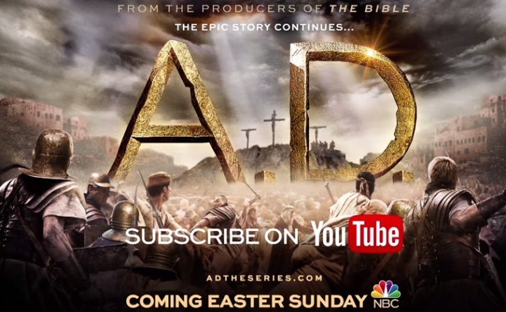 Roma Downey, Mark Burnett Avow 'A D  – The Bible Continues