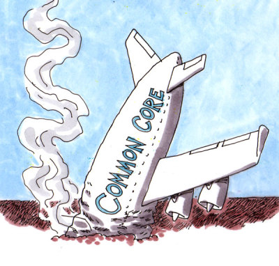 Common Core Crashes and Burns