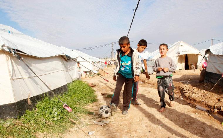 isis iraq children