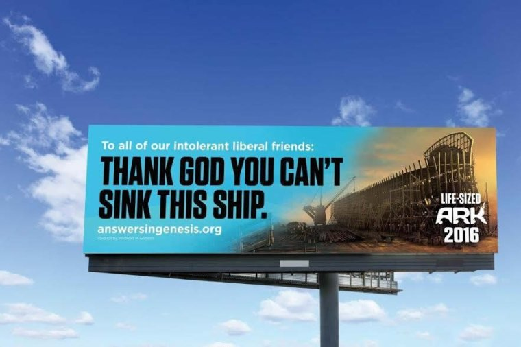 Ark billboard