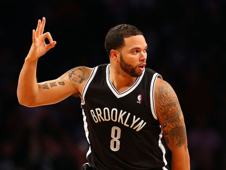 4b0efbead00 Brooklyn Nets point guard Deron Williams celebrates after a made3-point  shot in 2013. | Reuters