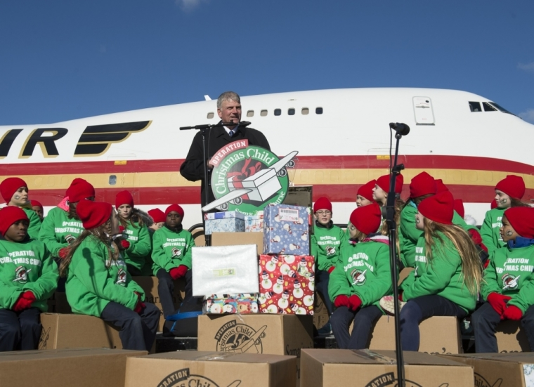 Operation Christmas Child airlift