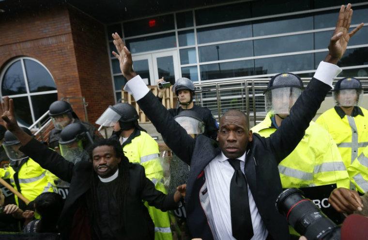 Pastors in Ferguson