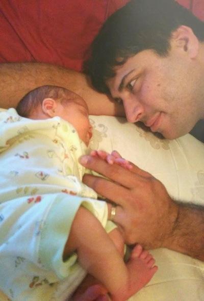 Jennifer Christie husband and baby