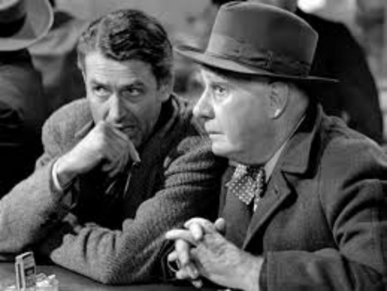 George Bailey and the angel, Clarence