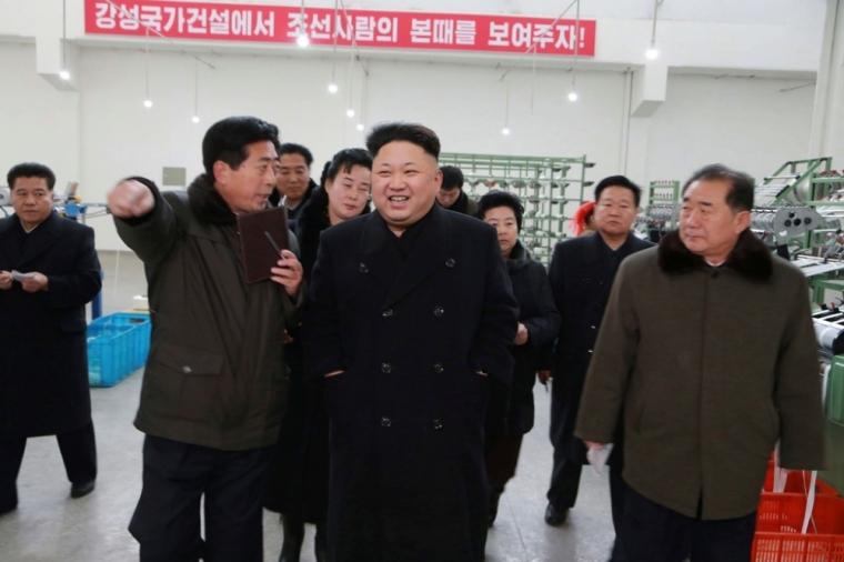 North Korean dictator Kim Jong Un