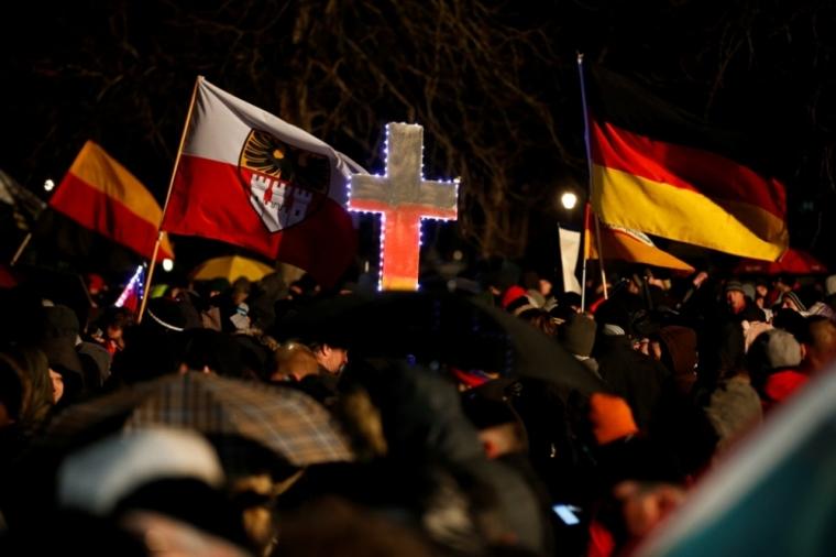 German protests
