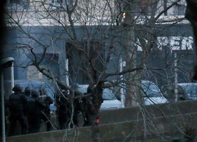 Paris hostages