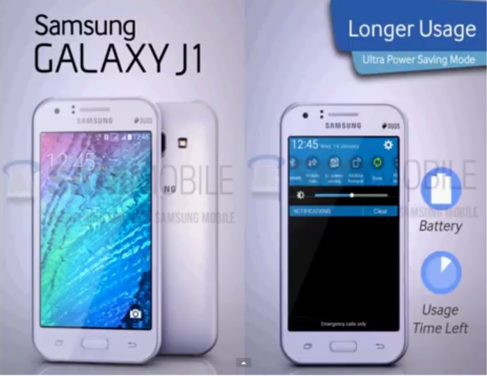 Upcoming Samsung Phones 2015: Alleged Galaxy J2 Appears in