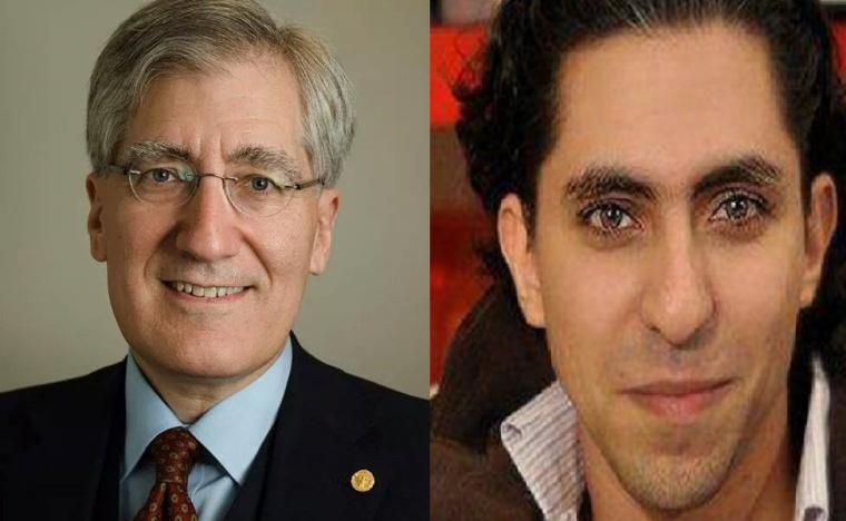 Robert P . George, Raif Badawi
