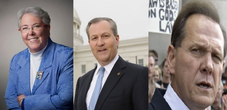 Patricia Todd, Roy Moore, Mike Hubbard