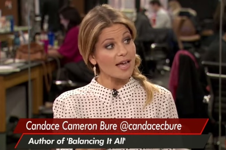 Candace Cameron Bure 'Submitted' To Her Husband