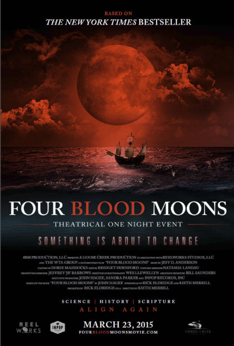 """""""Four Blood Moons"""" movie poster"""